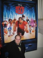 Me and Disney's Wreck-It Ralph by MortenEng21