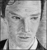 Benedict  Cumberbatch by ShErLoCkAh0LIQuE