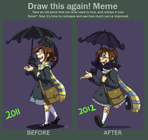 Meme: Draw This Again 2012 by forte-girl7