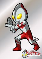 Kid UltraMan 3 by Chizel-Man