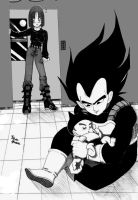 Vegeta Family by Dhesia
