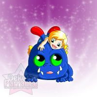 Skylanders Portal Masters - Wrecking Ball and Joey by Chibi-Warmonger