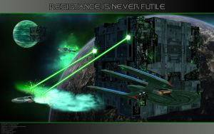 Resistance is never futile by Joran-Belar