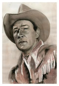 Roy Rogers by SALTWatercolors