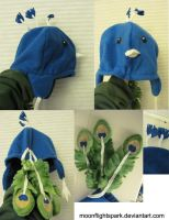 Peacock Hat (old) by Like-a-Surr