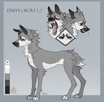 |Daffy| Reference sheet by onlDaff