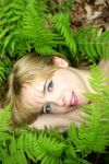 Green Ferns by Robyn-Eliza