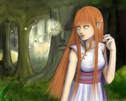 Into the forest - Contest Prize by hiyoK0