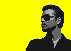 George Michael Paint By Number Art Kit by numberedart