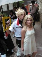 Roxas and Namine by DevilKaye