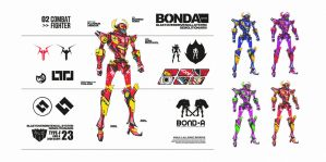 tris-arm : bonda by mulodesu