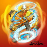 Avatar -  the last air bender by B-neoZEN