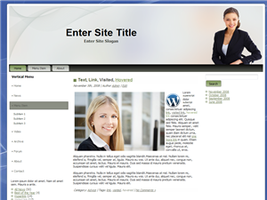 Business WP Theme by wastematerials