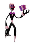 Stylistic Puppet model by TheW3irdR3DPanda