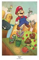 MARIO BROS by pop-lee