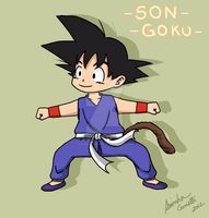 Son Goku by aninhachanhp