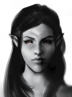 Dunmer girl by vandymoore