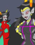 RedGalre and the Condesce acting like Chicknes by CathyMouse2010