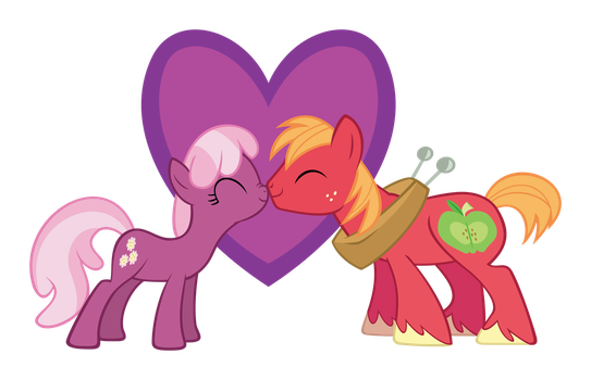 Big Mac + Cheerilee by delectablecoffee