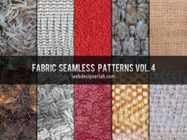 Fabric Seamless Patterns Vol. 4 by xara24