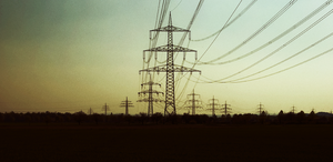 Army of electrical towers by BennyBrand