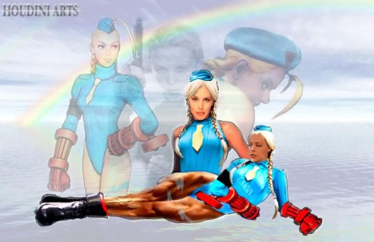 Kylie as Cammy White by HoudiniArts