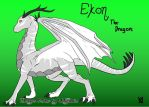The Dragon, Ekon by ForgottenBlueEyes