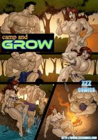 Camp and Grow preview 3 by zzzcomics