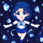 Sailor Mercury! by Geegeet