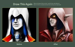 Draw this again - Assassin by Rem-Jericho