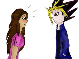 July and Yami/Atem by pispispis