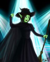Wicked series 1 - Elphaba by shadowednavi