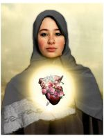 Immaculate Heart of Mary by mysamsara