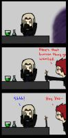 Tie Back Long Hair Starring Vexen and Axel by RenaTheXV