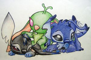 Shadox, Bokoon and me by Renchee