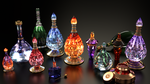 Skyrim potions by Etrelley