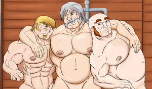 Shower with dad #3 by SteveKeenell