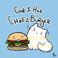 Can I Haz Cheezburger by Mikochi