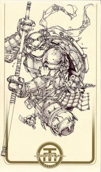 TMNT Donatello by harveytolibao