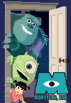 8 Bit Monsters, Inc. by frankdawg48