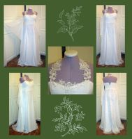 Elven Bride Gown by AFahrbach