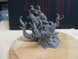 Shoggoth maquette by shaungent