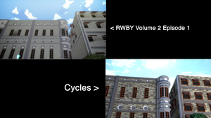 RWBY vs. Cycles by Godofnothing513