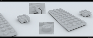 LEGO 7890 Preview Render by Zortje