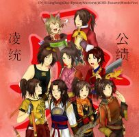 10/10 Ling Tong's Day! by WendaVinci