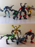 Lego hero factory all double trouble villains by Ather42