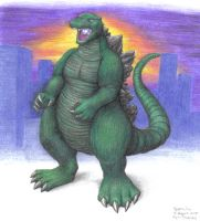 Gojira 00 by Toku-Justice