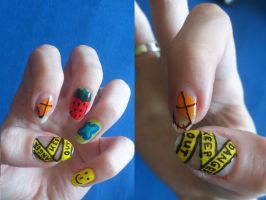Crazy Nails by love---less