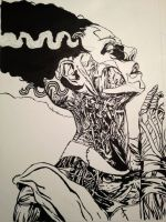 Bride of Frankenstein : Lines by D-Techno-life