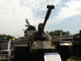 Korean War Memorial: M48 Patton by Katamariguy
